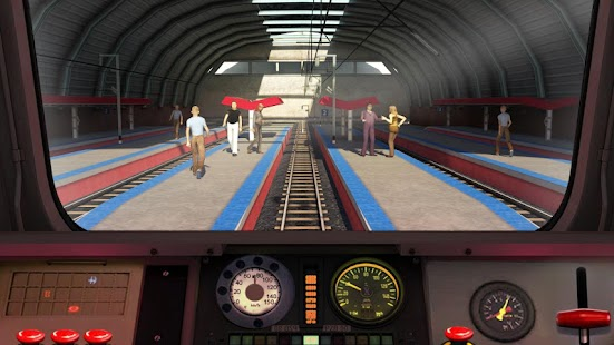 Euro Train Racing Game 2017- Multiplayer - náhled