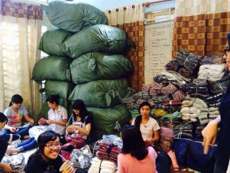 Địa chỉ shop bỏ sỉ quần áo Quảng Châu