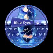 Blue Eyes GO Keyboard