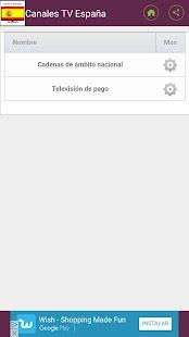 canales de Television Gratis España - náhled