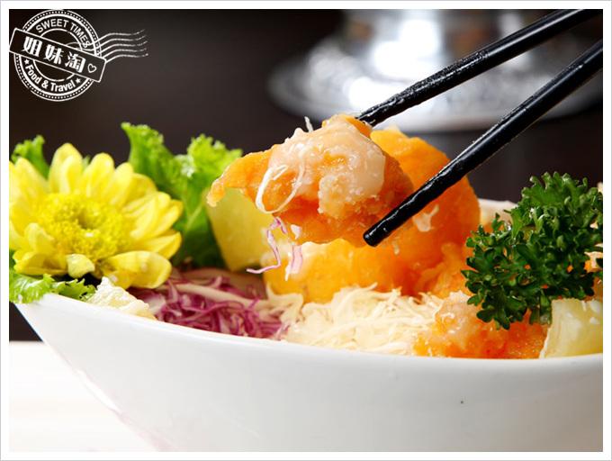 阿杜皇家泰式料理菜單檸香蝦球