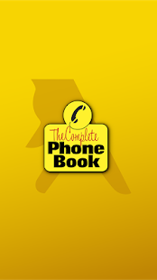 The Complete Phone Book- screenshot thumbnail