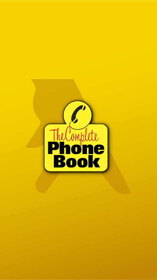 The Complete Phone Book- screenshot
