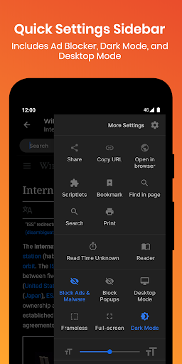 Hermit u2022 Lite Apps Browser 14.1.0 screenshots 2