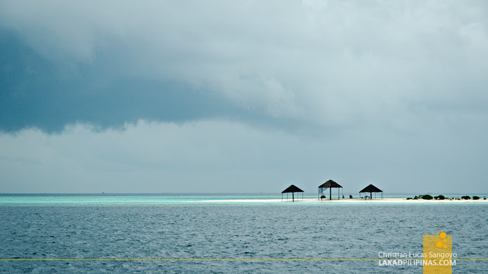 Gloomy Maldives Sea