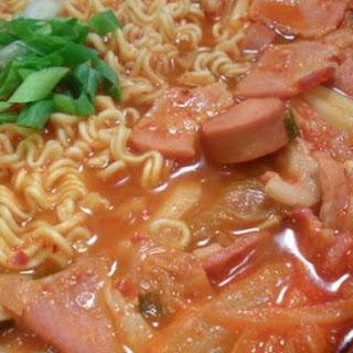 Budae Jjigae (Korean Army Stew).