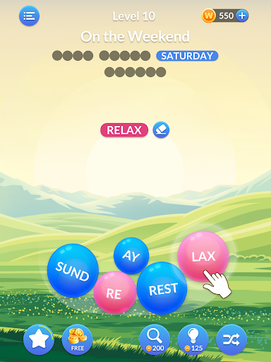 Word Serenity - Calm & Relaxing Brain Puzzle Games modavailable screenshots 9