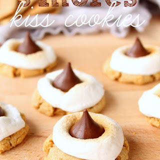 S'mores Hershey's Kiss Cookies