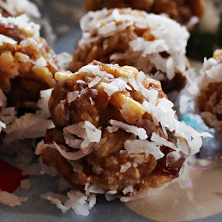 Coconut Rice Krispie Dates Balls Recipes