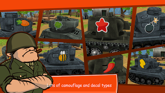 Toon Wars: Battle tanks online- screenshot thumbnail