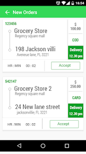Driver App - Grocery N Cart- screenshot thumbnail