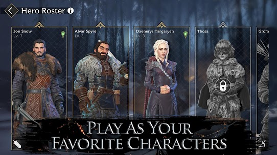 Game of Thrones Beyond the Wall™ Apk Download For Android and Iphone 6