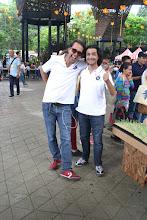 Photo: Juan Daniel Correa y Juan Sebastián Estrada energizando