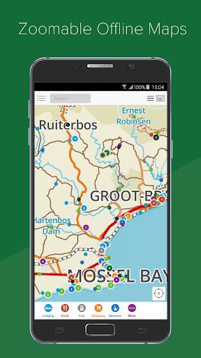 Tracks4Africa Guide screenshots 2