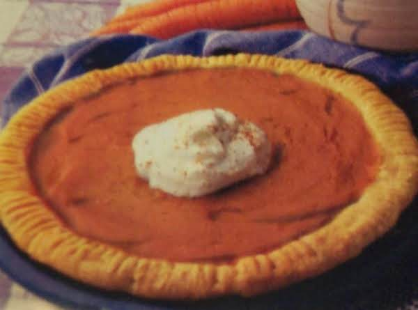 Nancy's Olecarrot Pie Recipe