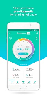 Goodsomnia Lab: Snoring detection,analytics w. ECG- screenshot thumbnail