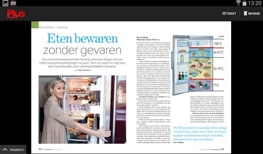 Plus Magazine België HD screenshot 11
