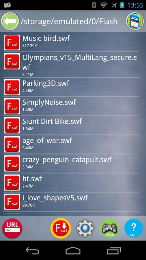 Swf Player Mac Game