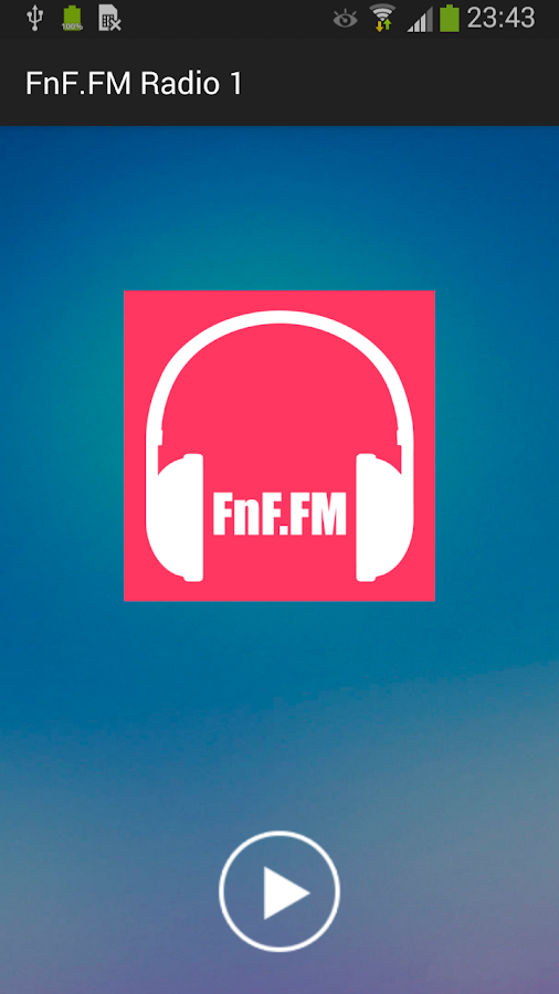FnF.FM Radio- screenshot