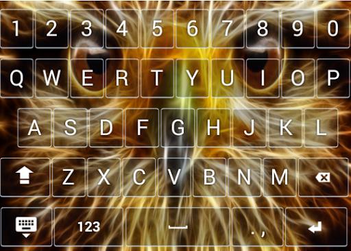 Animal Neon Keyboard