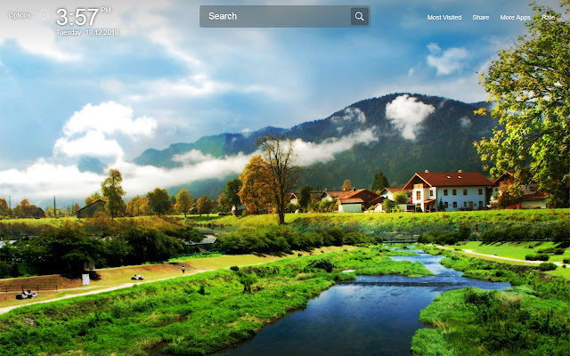 Scenery Wallpapers Theme New Tab