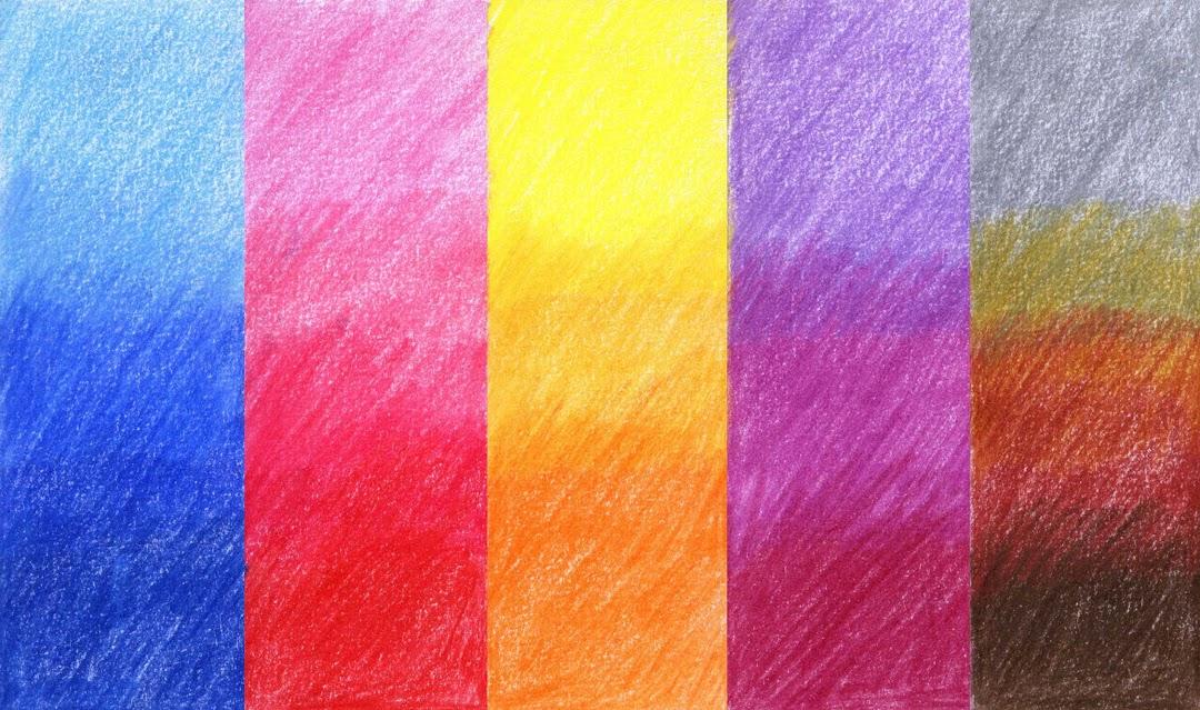 pensil warna belajar menggambar