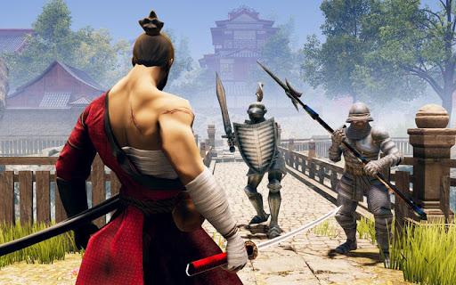Code Triche guerrier ninja d'ombre - jeux de combat samourau00ef APK MOD screenshots 3