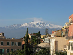 Photo: Mount Etna on Christmas Day