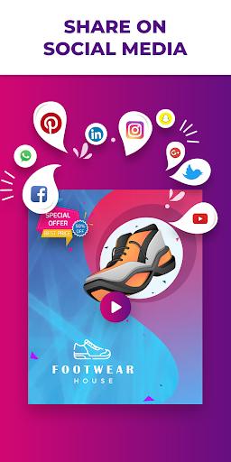 Flyer Maker, Poster Maker With Video 19.0 screenshots 7