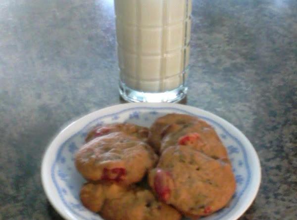 Grandma Parson's Cheery Cherry Date Nut Drop Cookies Recipe