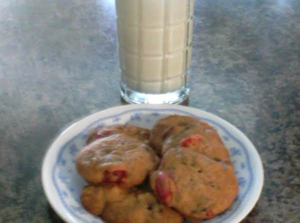 Grandma Parson's Cheery Cherry Date Nut Drop Cookies