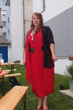 Photo: Geburtstagsfest am 11.6.2016. Regina Schörg. Foto: Herta Haider