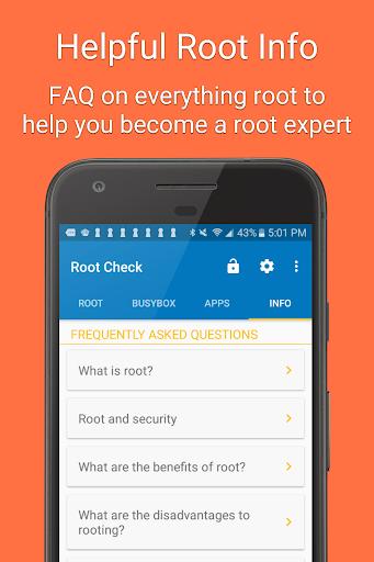 Root Check 4.4.1.0 screenshots 3