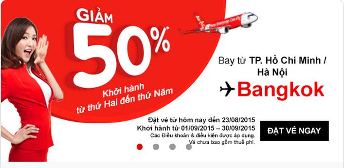Săn sale là cách đặt vé máy bay đi Bangkok có lợi