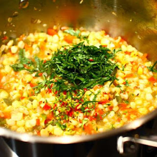 Grilled Corn' Chili Lime Soup