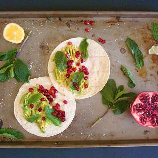 Sweet Avocado & Mint Tacos Recipe
