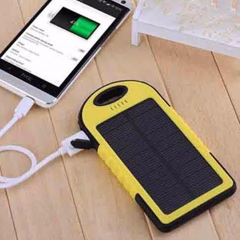 Pin sạc dự phòng năng lượng mặt trời PS01