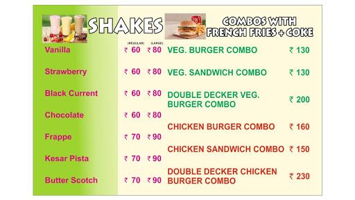 Burger Xpress menu 3