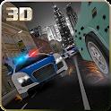 Criminal Driver Policía Chase icon