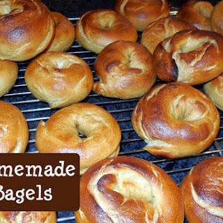 Homemade Bagels –