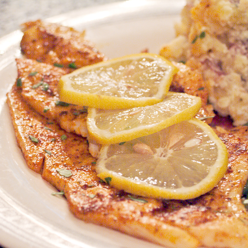 Simple Grilled Fish