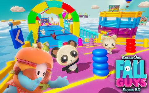 Knockout Fall Guys Royale 3D screenshot 9