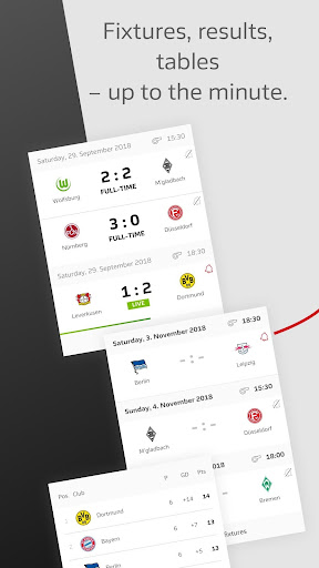 BUNDESLIGA - Official App 3.2.5 screenshots 2