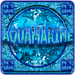 NEXT LAUNCHER THEME AQUAMARINE Icon