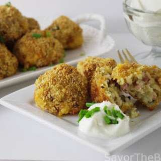 Loaded Baked Potato Croquettes Recipe