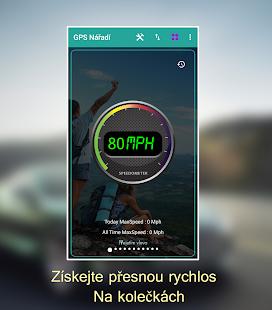 nástroje GPS - náhled
