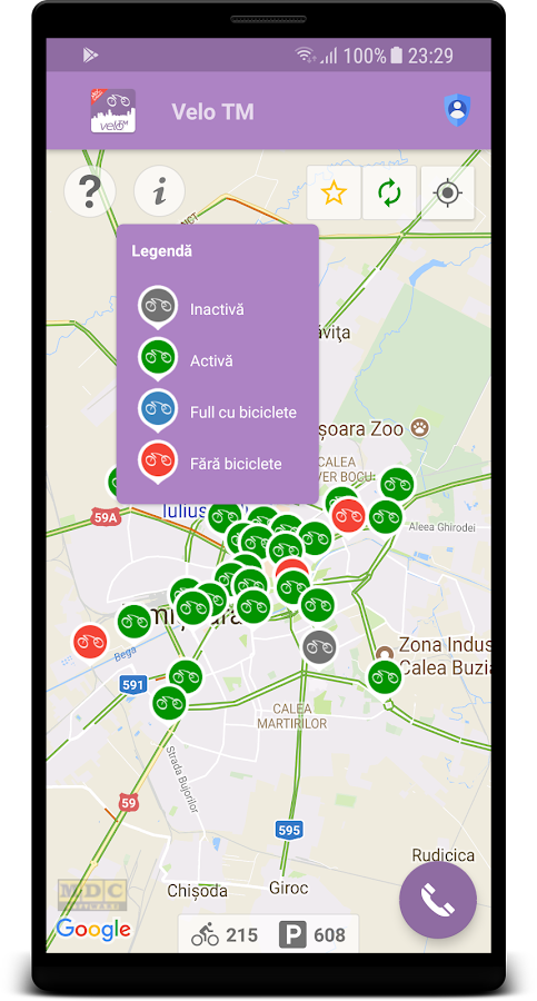 Velo TM App- screenshot