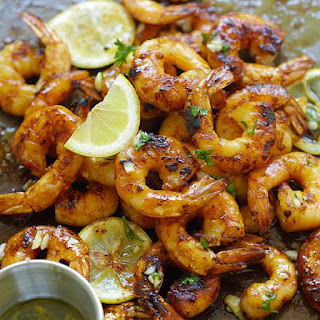 Grilled Honey Cajun Shrimp