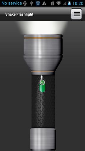Shake Flashlight screenshot 1