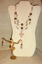 Photo: <BEREHYNYA> {Great Goddess Protectress} unique one-of-a-kind statement jewellery by Luba Bilash ART & ADORNMENT  # 123 BALAMUTY ~ БАЛАМУТИ - brass Hutsul cross, Mother of Pearl (баламути), copper, rose gold vermeil $160/set SOLD/ПРОДАНИЙ  http://www.wikihow.com/Clean-A-Pearl-Necklace